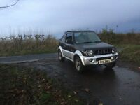 2003 suzuki jimny 1.3 4x4 stunning little jeep tax and tested ideal for bad weather £1175 ovno