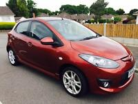 2010 MAZDA 2 TAKUYA 1.3 PETROL 38k MILES FULL SERVICE HISTORY ONLY £30 ROAD TAX A YEAR LONG MOT