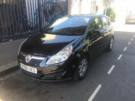 vauxhall corsa automatic low miles 43k only