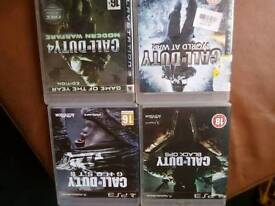 PS3 Call Of Duty Games Collection/4.for sale.