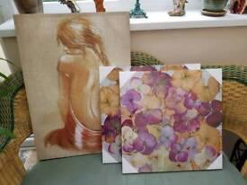 3 x Canvas Prints