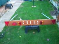 Plant Trailer Light Board with extendable arms