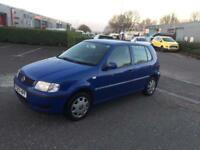 2001 Volkswagen polo 1400cc AUTO only 70'000 miles from new 2 keys mot till next July