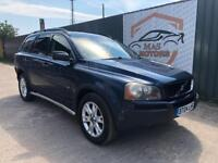 VOLVO XC90 2.4 D5 SE G/T DIESEL 7 SEATER AUTO LEATHER