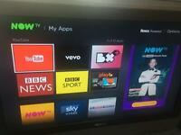 "32"" 1080i freeview HDMI TV with stand and remote"