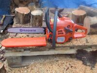 Husqvarna 236 chainsaw brand new 14inch bar and chain powerful lightweight saw