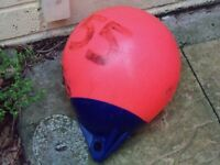 Boat buoy in red colour