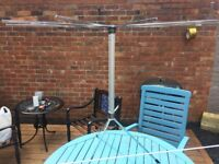 Vintage 1950s Servis Telescopic Airer / Maiden Steampunk Studio Prop- can deliver