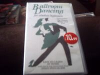 2 x vhs tapes..ballroom dancing and musical chairs..