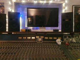 Fostex PM-1 active studio monitors (pair)
