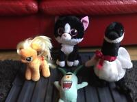 Selection of ty teddies