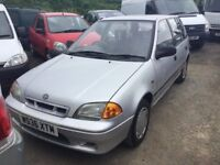 2000 SUZUKI SWIFT LOVELY LITTLE RUN AROUND NO MOT ANY TRIAL WELCOME
