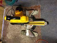 Dewalt chop saw, basically new