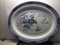 Platter / serving plate by Booths Pottery