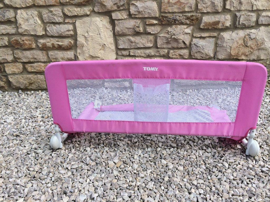 Ikea Patrull Stove Top Guard ~ USED TWICE TOMY PINK BED GUARD RAIL  IMMACULATE  will delete when