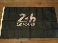 24 hour Le Mans workshop flag banner