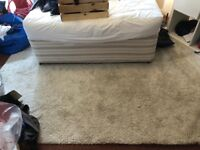 Large Ikea Rug, 170cm x 240cm - Style: Adum - Color: Cream/Beige
