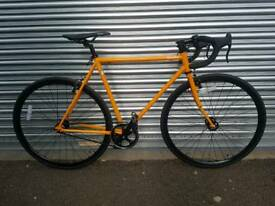 Quella evo Single speed Bike orange 55cm