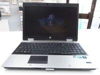"HP Elitebook 8540P Laptop Notebook 15.6"" Screen 500GB 6GB Windows 10 ( 2 of 2 )"