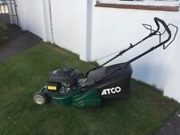 Quality Petrol Lawnmower & Trimmer for Sale. (Atco-18SH and Stihl FS-55)