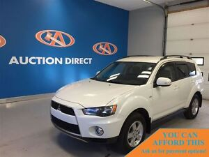 2013 Mitsubishi Outlander LS,3 ROW SEATING! V6, 4X4, FINANCE NOW