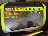 Urban Escape 6 person tent. Used once. 3000 weather proof