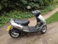 2004 Sym Jet Euro X - MOT'd, Ready to Ride - 50cc Moped Scooter