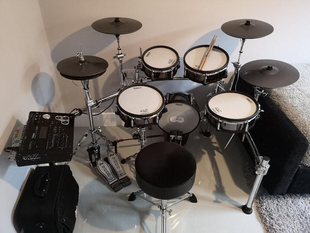 Roland TD-30KV Electronic Drum Kit DW 9002XF Double pedal 9000 Hi-Hat +  MORE!!!!   in Halesowen, West Midlands   Gumtree
