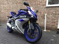 I am selling my low mileage Yamaha YZF R125 ABS - 2015