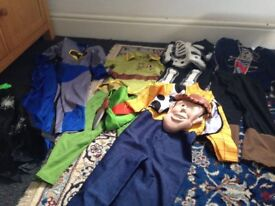 Great condition job lot of kids dressing up outfits age 4-5