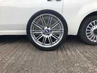 "BMW F30 E90 18"" MV4 ALLOY WHEEL 8.5J WITH TYRE SPACE SAVER"