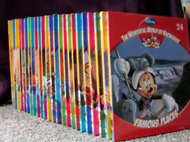 Disney The Wonderful World Of Knowledge 24 Book Collection