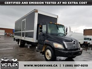 2007 Hino 145 268 26Ft x8Ft High+ Lift Gate/Ramp