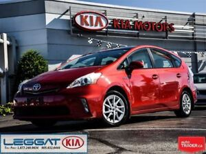 2012 Toyota Prius v Base - Leather, Dual Sunroof, Push Button, C