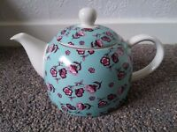Whittard of chelsea designed exclulively by tea time tarts tea pot floral