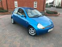 2004/54 FORD KA 1.3 LUXURY LEATHERS FSH 2 F KEEPERS