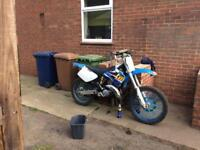 TM 125 200 NOT CR/YZ/KX/KTM/RM SWAPS FOR CAR POSSIBLY