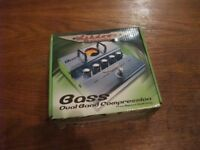 Ashdown dual-band bass compressor pedal, immaculate