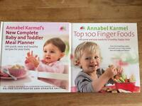 Annabel Karmel Books - cooking for babies and toddlers
