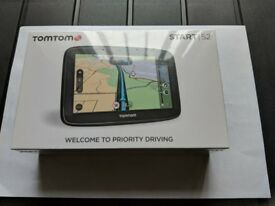 "TomTom Via 52 5"" SAT NAV UK"