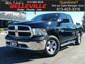 2013 Ram 1500 Tradesman-Balance OF A 5 YR OR 100000 KM Gold Warr