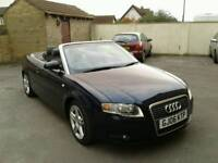2006/06 Audi A4 1.8 sport convertible with full document service history semi auto