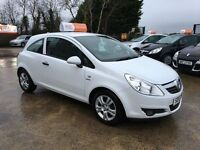 2010 Vauxhall Corsa 1.2 Energy 3 Door White **FINANCE AND WARRANTY** (clio,polo,fiesta,207)