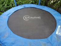 6ft Kid active trampoline. Good condition.