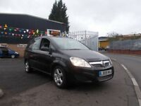 Vauxhall Zafira 1.9 CDTi Exclusiv 5dr 7 SEATER AUTOMATIC 2009