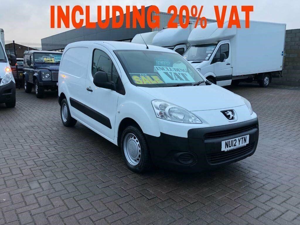 02a30063ba 2012 Peugeot partner 1.6hdi 850 90bhp £97.50 per month j ft v Mallusk