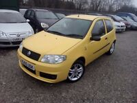 Fiat Punto 1.2 8v Active Sport 3dr, FULL SERVICE HISTORY. HPI CLEAR. MOT TILL FEB 18. LOW MILEAGE