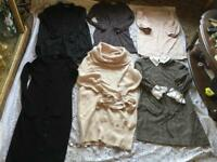 Clothes bundle, ladies dresses size 10, M used 8 dresses £14