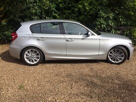 BMW 1 SERIES 118d M SPORT 2009/59 SILVER £30 ROAD TAX *IMMACULATE CONDITION*