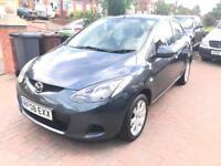 2008 08 Mazda 2 1.4D TS2 Low Mileage Full MOT £30 Road Tax Diesel Cheap Insurance Pearl Paint